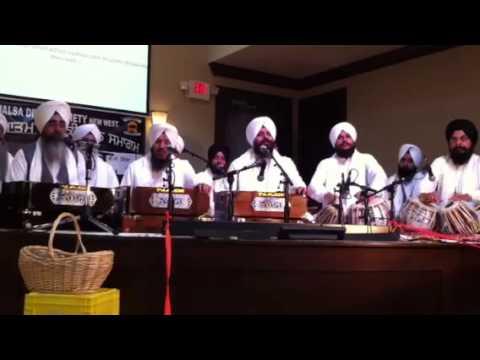 Bhai Satvinder & Harvinder Singh Ji - Sabna Vich Tu Vartda Shaha