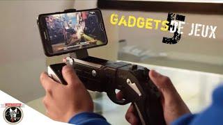 TOP 5 Gadgets GAMING Pour Smartphone Des Accessoires De Jeux ( FORTNITE Mobile, Pubg mobile , FPS )
