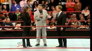 Vince McMahon reinstates Chris Jericho Part1