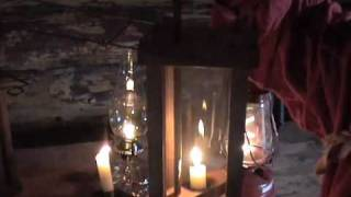 Pioneer Skills Lighting Candles through Kerosene