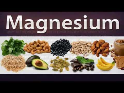 Magnezyum hangi besin maddelerinde bulunur