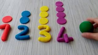 sayılar-renkler-oyun hamuru-çizgi film-hamur oyunları-oyun hamuru videoları