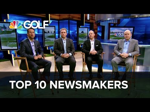Top 10 Golf Newsmakers of 2014 | Golf Channel