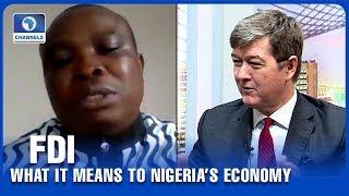 Andrew Nevin, Vincent Nwani Discuss Diaspora Remittances