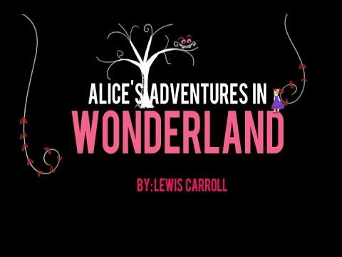 Alice's Adventures In Wonderland Book Trailer