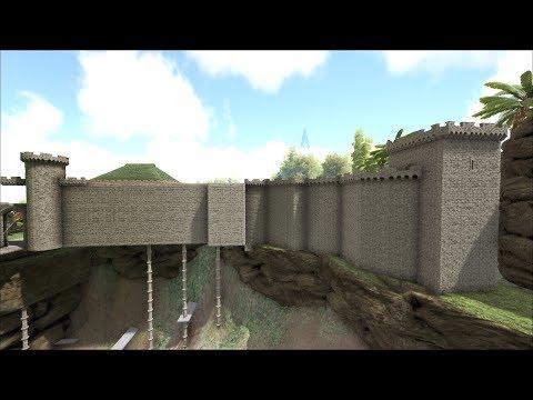 ARK: Survival Evolved-.#48 Мод CKF. Башни крепостной стены.