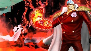One Piece Pirate Warriors 3 Akainu Level 100 Gameplay Nightmare log
