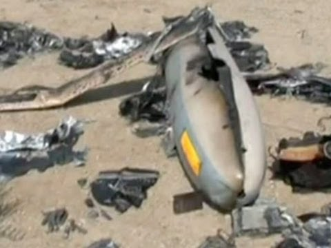 Raw: Israeli Drone Allegedly Shot Down In Iran