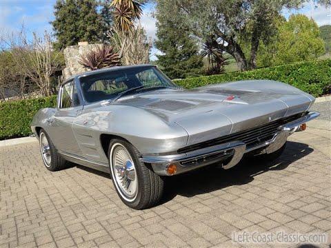 1963 chevrolet corvette sting ray split window for sale youtube. Black Bedroom Furniture Sets. Home Design Ideas