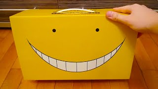 Assassination Classroom Manga Box Set Unboxing