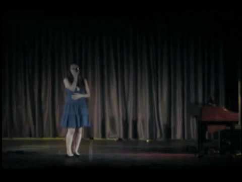 Nala Johnson Burroughs sings Only Hope