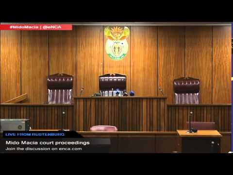 LIVE: Mido Macia court proceedings