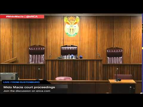 LIVE: Mido Macia court proceedings