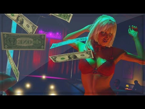 GTA 5 PS4 Gameplay LIVE - GTA 5 Strip Club Free Roam ...