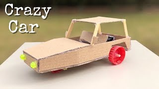 How to Make Electric 3 Wheel Car from Cardboard