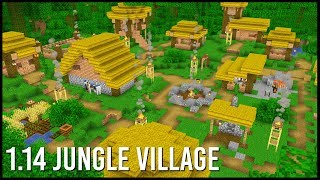 What Would A 1.14 Jungle Village Look Like In Minecraft?