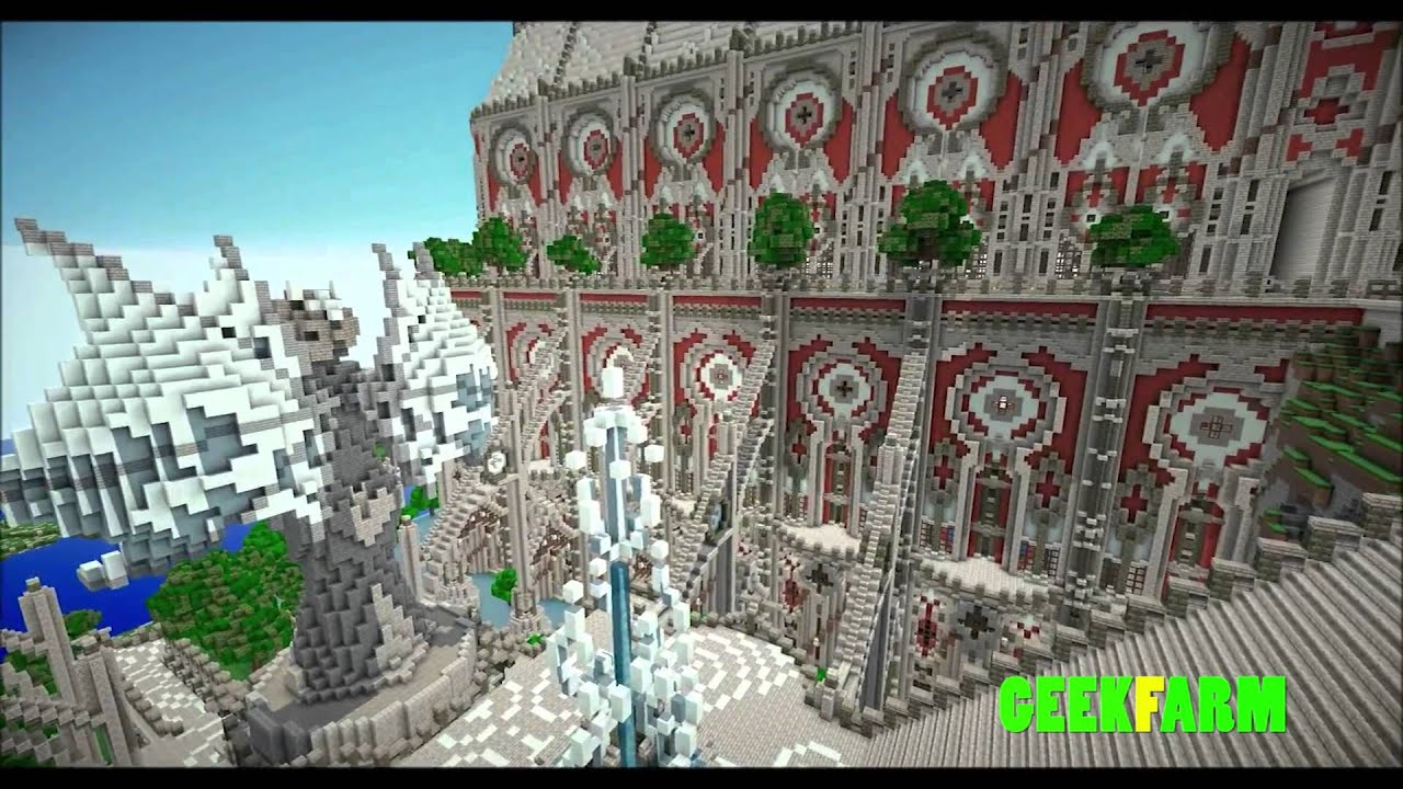 Les plus belles constructions minecraft cathedral of - Plus belle construction lego ...
