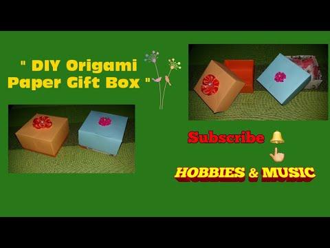 DIY Origami Paper Gift Box | Easy