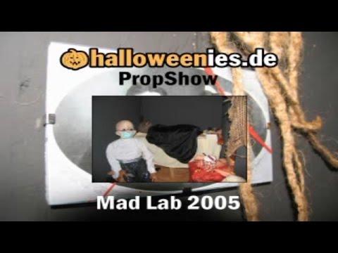 Mad Lab  Halloween Prop 2005