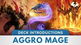 Aggro Mage | Hearthstone Deck Introduction | [Witchwood]