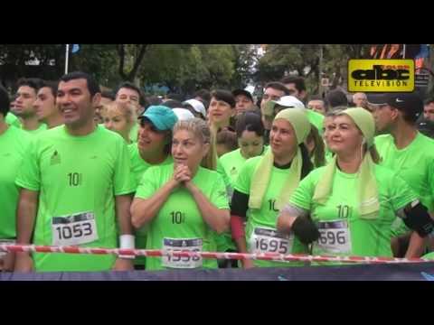 Mejores imágenes de la Media Maratón Internacional de Asunción - MMIA 2016