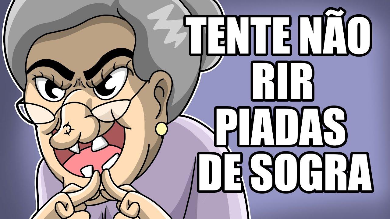 TENTE NÃO RIR !!! - PIADAS DE SOGRA ( ANIMAÇÃO )
