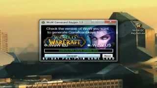 WoW Gamecard Generator World of Warcraft FREE