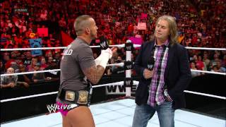 Bret Hart and CM Punk discuss what would of happened if they faced each other: Raw, Sept. 10, 2012
