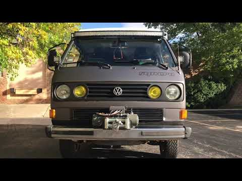 SOLD] 1987 Volkswagen Syncro Westfalia For Sale - YouTube