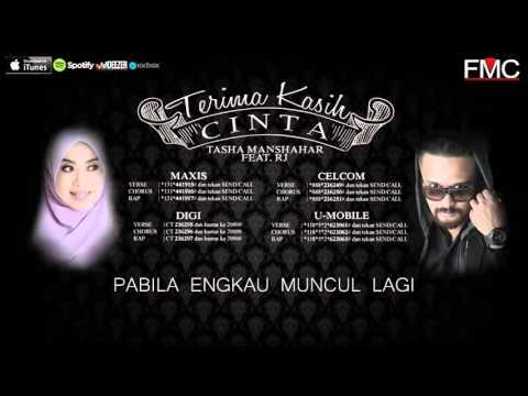 Tasha Manshahar Feat  RJ   Terima Kasih Cinta  Lirik  HD