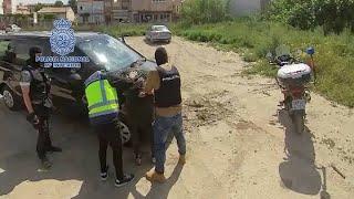 Detienen a cuatro individuos que presuntamente atracaron una joyería en Murcia