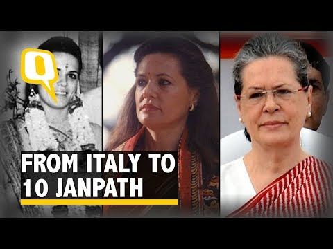 Sonia Gandhi's Journey from Italy to 10 Janpath in Under 9 Mins | The Quint