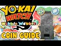Yo-kai Watch Wibble Wobble Crank-a-Kai Guide - What Appears on Every Coin!