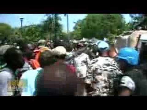 Food riots grip Haiti
