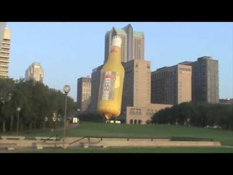 St Louis trip Gateway Arch and hot air balloon