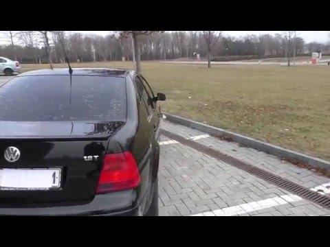 Редкий Фольксваген Бора (Volkswagen Bora) 1.8Т. Механика Обзор