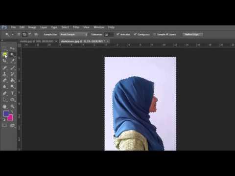 Cara Membuat Siluet ala Pas Mantab Menggunakan Adobe Photoshop