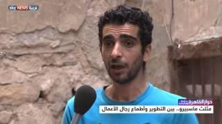 بالفيديو والصور.. عمرو عبدالحميد يرصد آراء وطلبات أهالي مثلث ماسبيرو قبل تطوير المنطقة