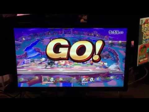 Smash Bros. WiiU - Triforce Friday Winner's R4 -  Pon (Ganondorf) Vs. Ally (Mario)