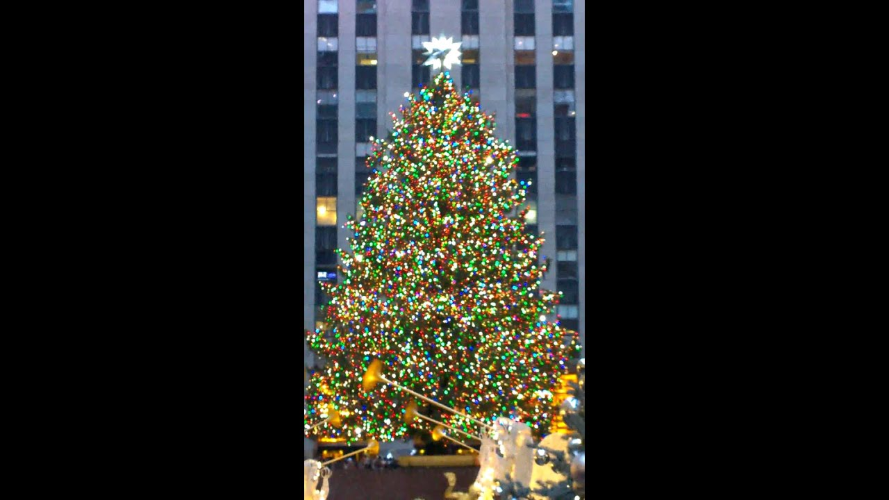 the rockefeller center christmas tree new york 2015 youtube. Black Bedroom Furniture Sets. Home Design Ideas