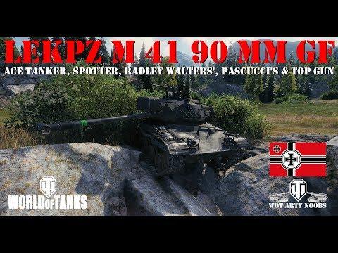 leKpz M 41 90 mm GF - Ace, Spotter, Radley Walters', Pascucci's & Top Gun
