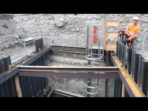 Travaux de la place Blanchard : le puits atteint 10 mètres