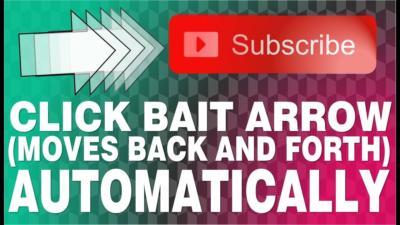 how to make a click bait arrow on powerpoint | custom animation, Powerpoint templates