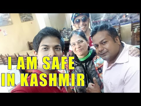 Feeling More Safe In Kashmir Than My Home -Tourist With Deepak kalal