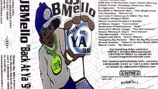 Dj B Mello - Back At Ya 99 Rare Mixtape Cassette