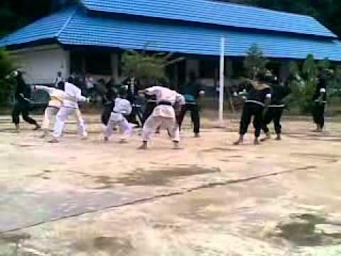 Latihan Perguruan IKS.PI KERA SAKTI Cang Samarinda