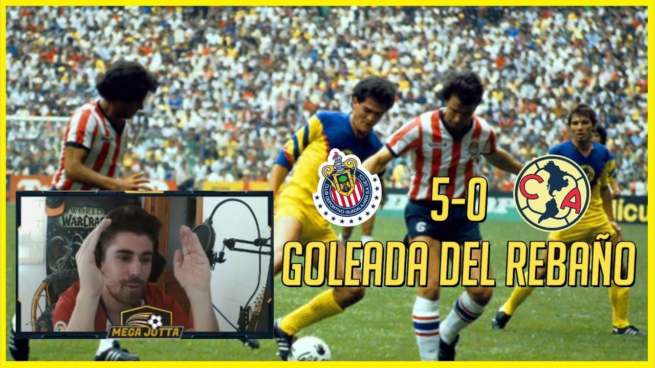 🔥 ESPAÑOL REACCIONA a CHIVAS 5-0 AMÉRICA (Invierno 1995)