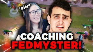 Gambar cover HAFU COACHES FEDMYSTER! How to play aggressive and WIN in TFT! | Teamfight Tactics