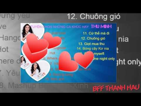 tuyển tập những ca khúc hay của Thu Minh