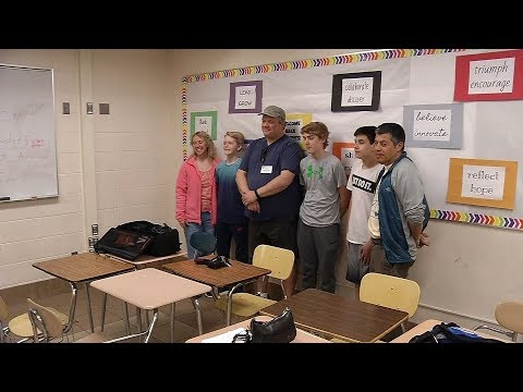 Plymouth Middle School Students Bring Clean Water to Honduras